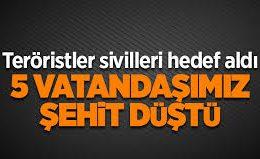 Diyarbakır'ın Kulp ilçesinde PKK'dan hain saldırı..