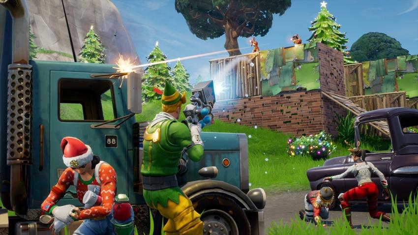 Fortnite Oyuncu Sayısı Rekoru Kırması Şerefine Çılgın Parti Düzenliyor