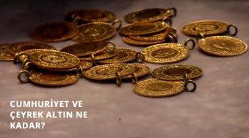 Altın Fiyatlarında Son Durum..