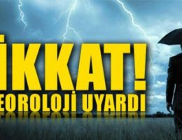 Meteoroloji'den gelen yağmur uyarısı!