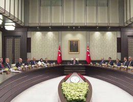 11 Ekim'de Düzenlenen Kabine Toplantısı Sonuçlandı.!